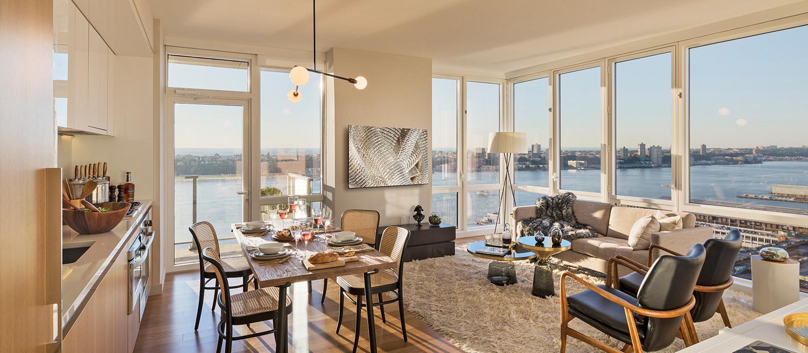Luxury Rentals Studio    Bedroom Apartments Sky - Nyc luxury studio apartments