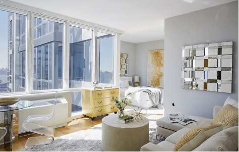The moinian group developer of the luxury sky building in midtown west recently unveiled a new suite of model residences showcasing custom interiors by a